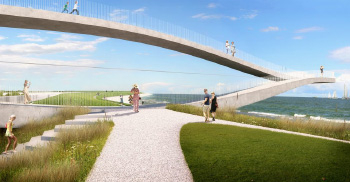 装修公司分享设计之-魔幻的跷板儿桥
