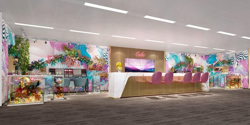 办公室装饰装修 展厅