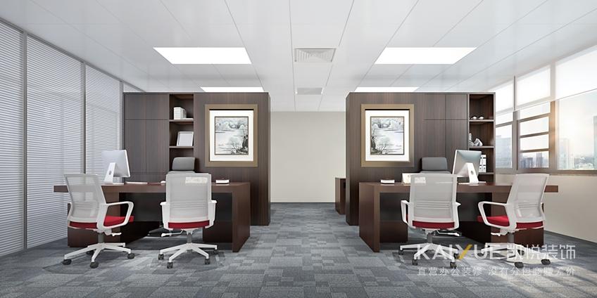 办公装修设计-办公区