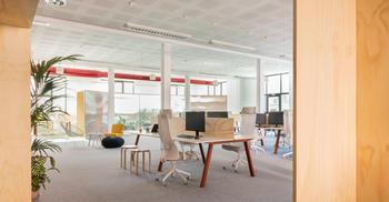 辦公室(shi)裝修公司(si)-按(an)照企業(ye)創業(ye)理念打造空間氛圍