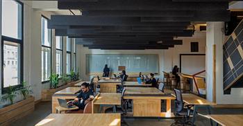 亚搏体育app官方ios楼设计-建造现代生物设计工作环境