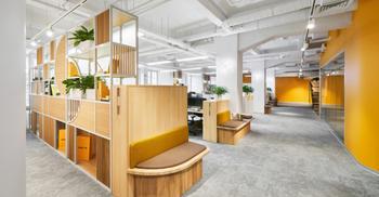 办公设计将有趣与动力营造出和谐而实用文化