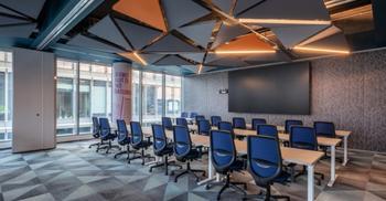 装修设计公司根据企业未来发展而创建动态空间