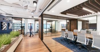 公司办公室装修-建造以强调人性化办公设计