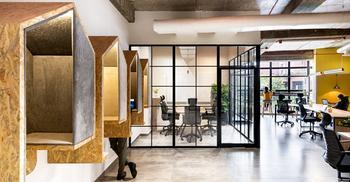 办公空间装修设计打造现代独特建筑结构