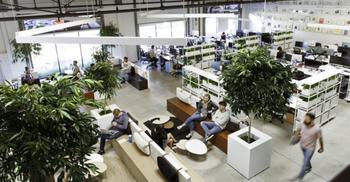 办公室装修将环境设计成不同类型