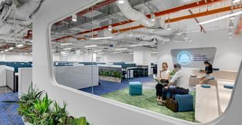将办公装修设计塑造成创造性工作场所