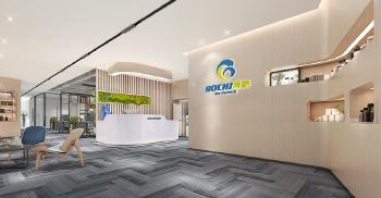签约博驰生物科技办公空间装修设计